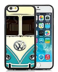 Volkswagen Vw Black Fantastic Design iPhone 6 4.7 Inch Silicone TPU Cover Case