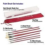 D'Artisan Shoppe Oil Acrylic Paint Brushes