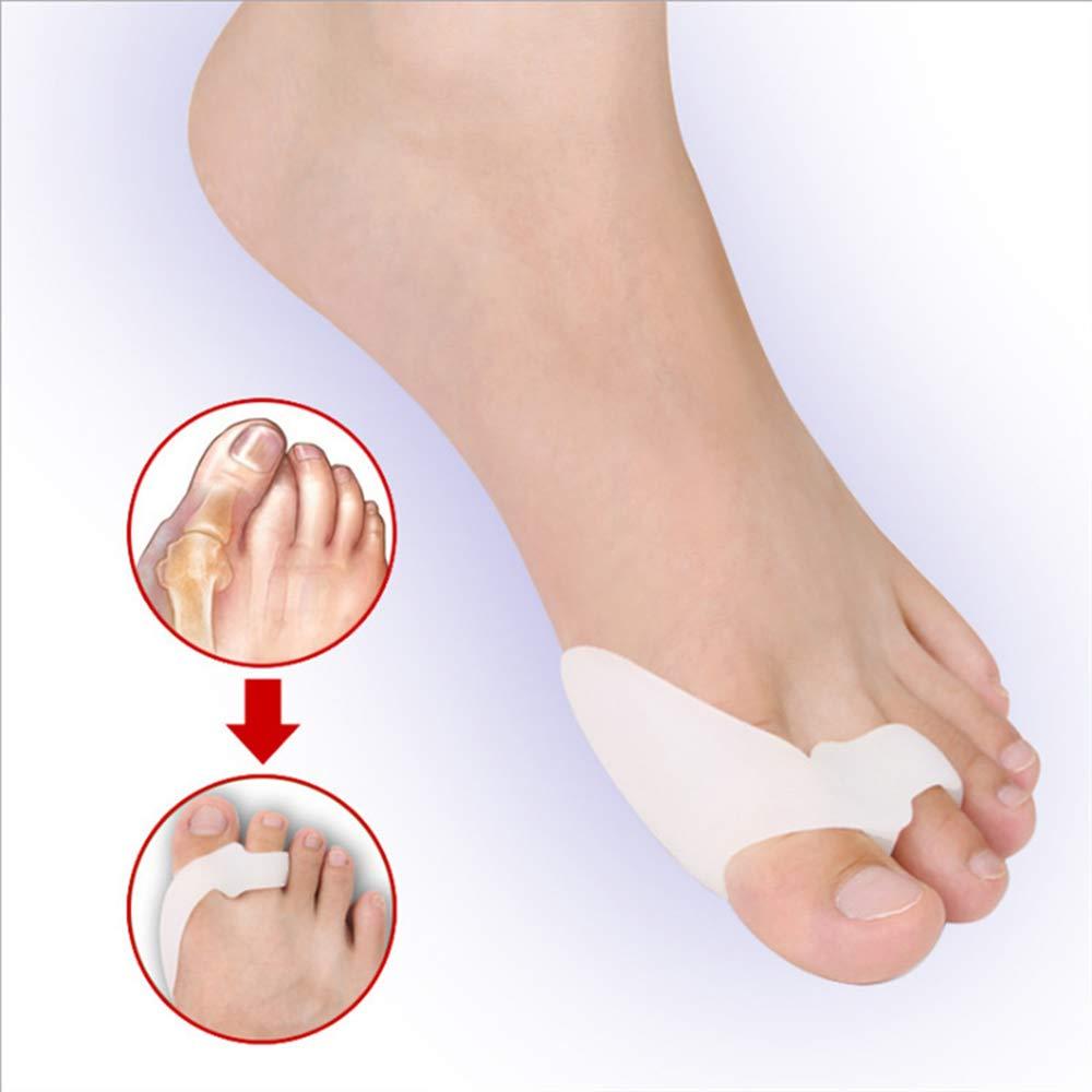 Toe Splints Straightener Broken Toe Wraps Cushioned Bandages Hammer Toe Separator Splints for Broken Injured Finger Hammer Toe by XSM (Image #4)