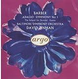 Barber: Adagio; Symphony No.1 etc.