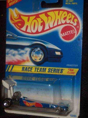 Race Team Series #4 Dragster Dark Blue 5-Spokes Mint #278