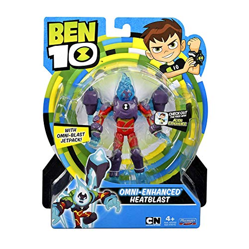 Ben 10 Omni-Enhanced Heatblast Action Figure (Upgrade Ben 10)