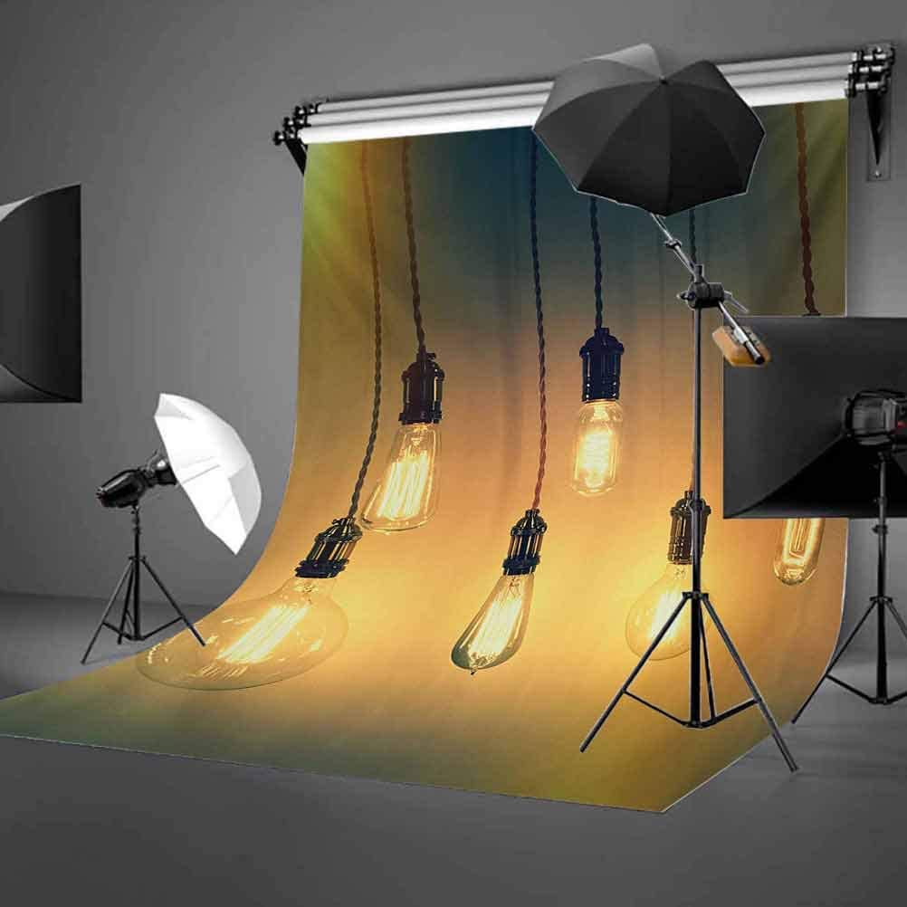 Industrial 6.5x10 FT Backdrop Photographers,Vibrant Retro Style Equipments Original Concept for Modern Artwork Design Background for Photography Kids Adult Photo Booth Video Shoot Vinyl Studio Props