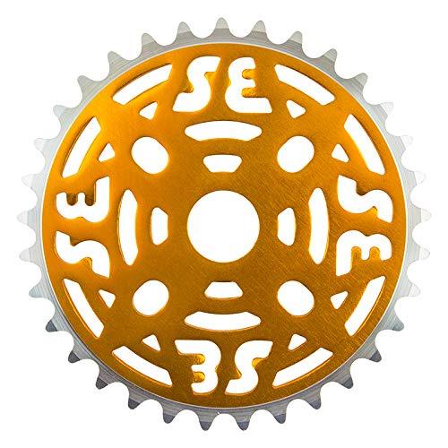 SE Bikes CHAINRING 1pc 33T 1/8 ALY GD