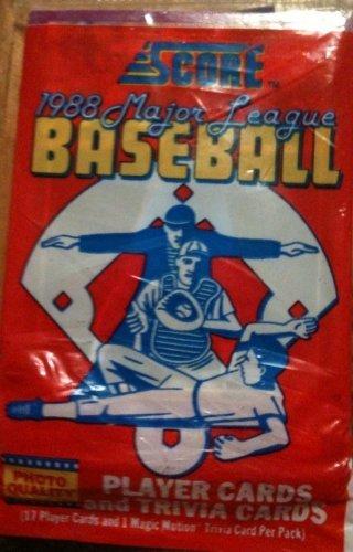 Amazoncom Score 1988 Major League Baseball Player Cards