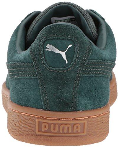 Puma Da Uomo Cesteria Classica Resistente Alle Intemperie Verde Con Timpani Gables-verdi