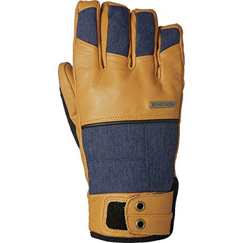 Pow Men's Tanto Trigger Mitt Snow Gloves (Tobacco, Large)