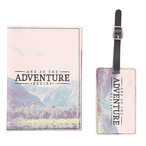 sass belle wanderlust adventure passport cover and luggage tag