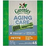 Greenies Aging Care Dental Dog Treats - Petite - 27oz
