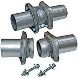 Flowmaster 15938 Header Collector Ball Flange Kit- 2.50 in. to 2.50 in. - Pair - requires welding