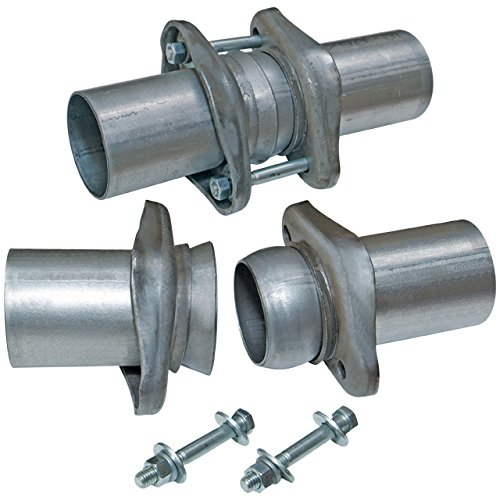 Flowmaster 15938 Header Collector Ball Flange Kit- 2.50 in. to 2.50 in. - Pair - requires welding ()