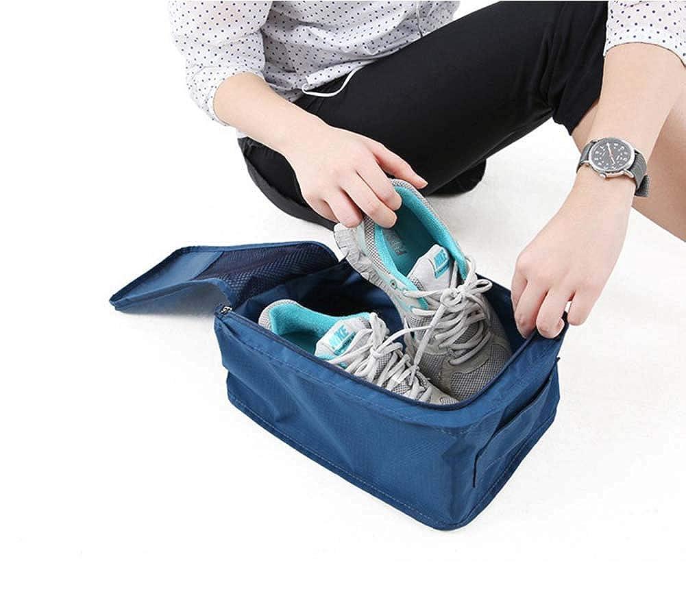 Kasla Shoes Bag Waterproof Nylon Portable Handle Shoe Pouch Storage Organizer Luggage
