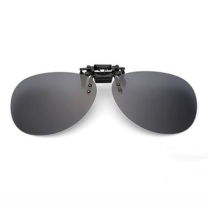 Gafas de Sol Gafas de Sol Clip-Style Glasses Drive Hombres Mujeres Moda polarizada (