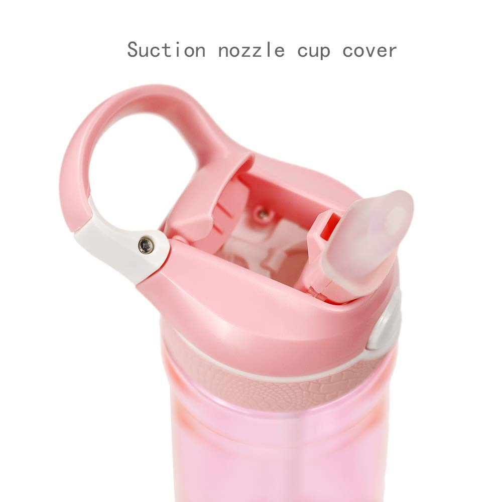 Ltd. OCTTO 20 oz Tritan Plastic Material Sports Water Bottle Super Resistant to Falling,Can Withstand 1000 Pounds of Weight,Leakproof Durable,Great Health and Fitness Outdoor Enthusias Dongguan Octto Co