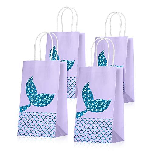 Mermaid Treat Gift Bags for Mermaid Birthday Party