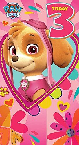 PAW PATROL Tarjeta de cumpleaños de la Patrulla Canina ...