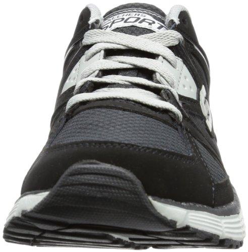 Skechers AgilityOutfield - Zapatillas de material sintético hombre negro - Schwarz (BKGY)