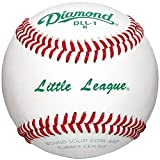 Diamond Dll-1 Little League Leather Baseballs 12 Ball Pack