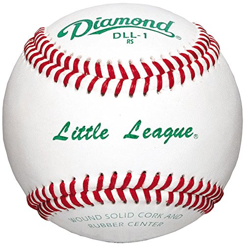 Diamond Dll-1 Little League Leather Baseballs 12 Ball Pack by Diamond Sports