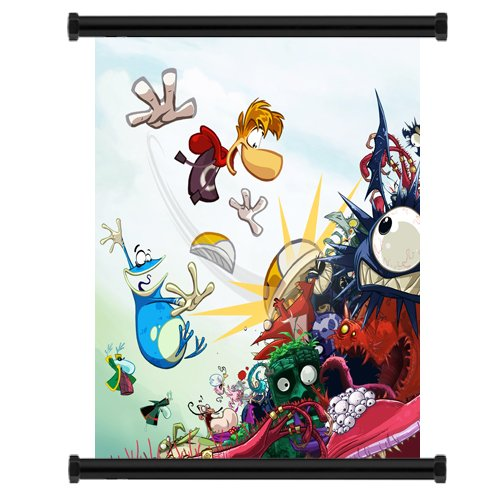 Rayman Origins Game Fabric Wall Scroll Poster  Inches