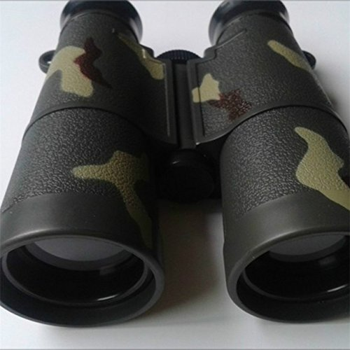 Children Binoculars Toy - 1 Piece 4X Camouflage Children Kids Boy Portable Folding Outdoor Hunting Travel Viewing Binoculars Telescope Scope Camouflage Toy