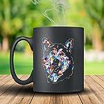 Alaskan Malamute Coffee Mug Ceramic - Alaskan Malamute Colorful Mugs, Black Mug, Tea Cup 15oz A Little Gift For Friends 5