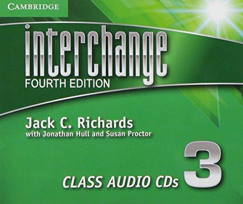Interchange Level 3 Class Audio CDs (3) (Interchange Fourth Edition) by Brand: Cambridge University Press