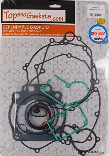 Complete Top & Bottom End Gasket Set Kit Kawasaki KX250 KX 250 05-2007 [並行輸入品]   B07Q2XK3MF