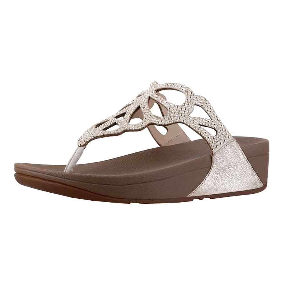 Women's Crystal Bumble Fitflop Toe Post OuXZiTPk