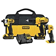 Amazon #DealOfTheDay: Save 27% on DEWALT 3-Tool Combo Kit