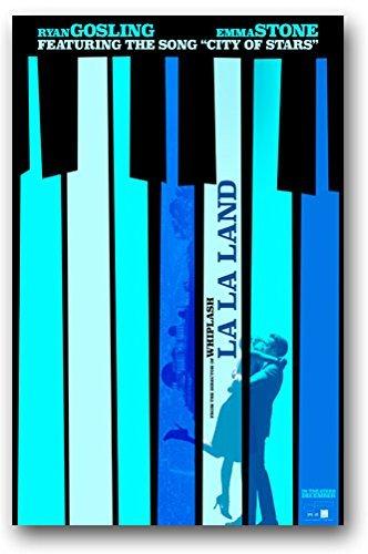 Poster La Land Movie Promo Flyer 11 X 17 LaLa Musical Piano Keys