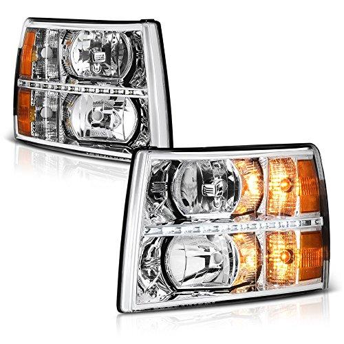 09 silverado headlight assembly - 4