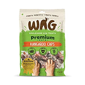 Kangaroo Caps 750g, Grain Free Hypoallergenic Natural Australian Made Dog Treat Chew, Perfect for Training Click on image for further info.