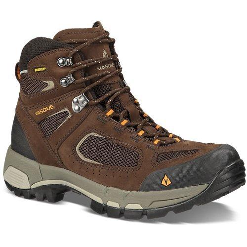 Vasque Men's Breeze 2.0 Gore-Tex Waterproof Hiking Boot, Slate Brown/Russet Orange,11 M US