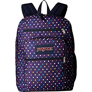 "JanSport Big Student Backpack - 17.5"" (Purple Spot-O-Rama)"