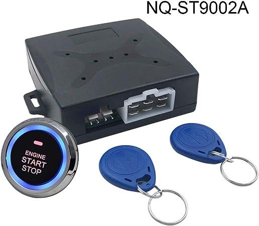 Fornateu Auto Diebstahlsicherung Motor Push Start Button Stop Rfid Lock Zündschalter Keyless Entry Wegfahrsperre Küche Haushalt