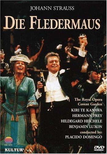 Johann Strauss - Die Fledermaus / Domingo, Te Kanawa, Prey, Royal Opera Covent Garden (Carl Costume)