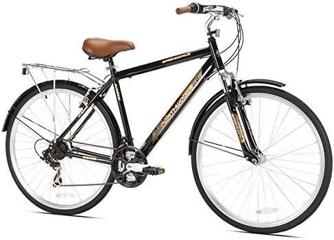 Northwoods Springdale 21-Speed del Hombre Bicicleta híbrida, 700 C ...