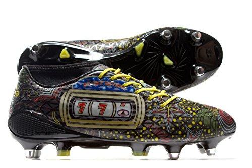 adidas adizero Malice 7s SG - Botas de fútbol para Hombre, Blanco - (FTWBLA/AMABRI/DORMET) 42