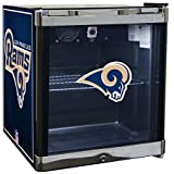 Glaros Officially Licensed NFL Beverage Center / Refrigerator - Los Angeles Rams