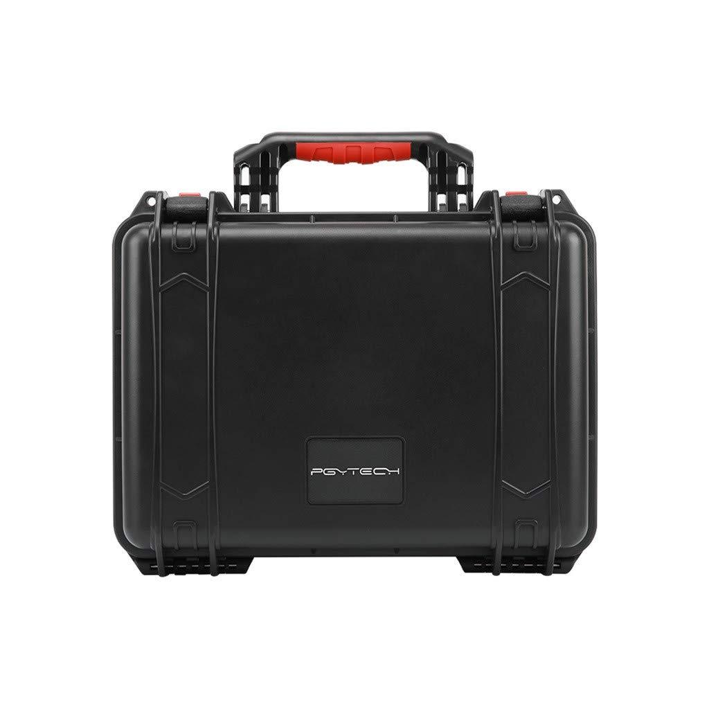 Zhaowei PGYTECH ハードシェル防水ケースボックス スーツケースバッグ DJI Mavic 2 & スマートコントローラー用 Approx.42.5x35.5x19.5cm ブラック Zhaowei B07PZD9Y2L ブラック