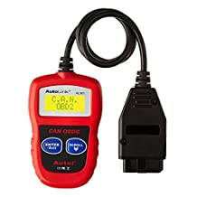 Autel AutoLink Fault Code Reader Engine Scanner Diagnostic Obd2 Can Bus Reset Tool For Gm/Bmw/Audi/Ford/Dodge