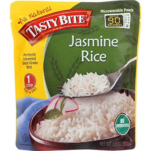 Tasty Bite Rice - Jasmine - 8.8 oz - case of 6 - Gluten Free - by Tasty Bite