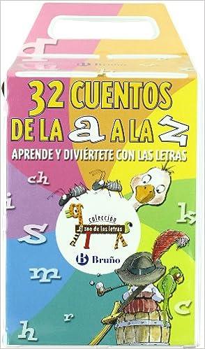 32 Cuentos De La A A La Z Castellano A Partir De 3 Años Libros Didácticos El Zoo De Las Letras Spanish Edition 9788421693902 Doumerc Beatriz Tría 3 Books