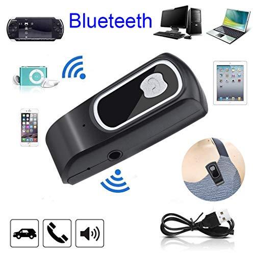 AfazfaMini Wireless Blueteeth Car Kit Hands Free 3.5mm Jack AUX Audio Receiver Adapter - Telephone Premium Handset Special