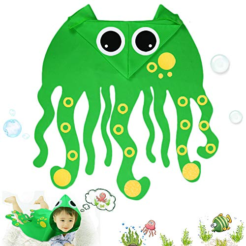 Toddler Kids Octopus Costume with Hat-Boys Girls Animal Dress Up DIY Cape Party Gifts for $<!--$14.50-->