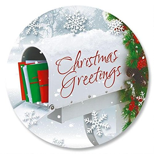 (Holiday Delivery Envelope Seals - Set of 144)