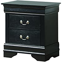 Glory Furniture G3150-N Night Stand, Black