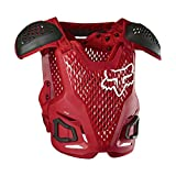 Fox Racing 2020 R3 Roost Deflector (Small/Medium) (Flame Red)