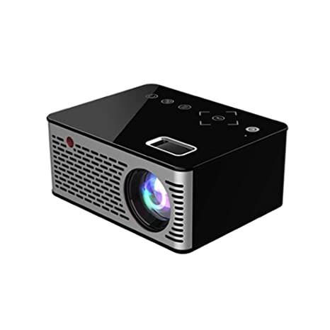 RUISI TM Mini proyector portátil, proyector de Cine en casa LCD ...
